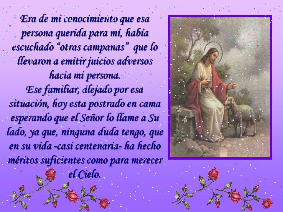 Buenos Aires, 07 de agosto de 2007 Querido P. Juan María: Yo quiero darte un testimonio… Situaciones especiales de la vida motivaron que tuviese un de