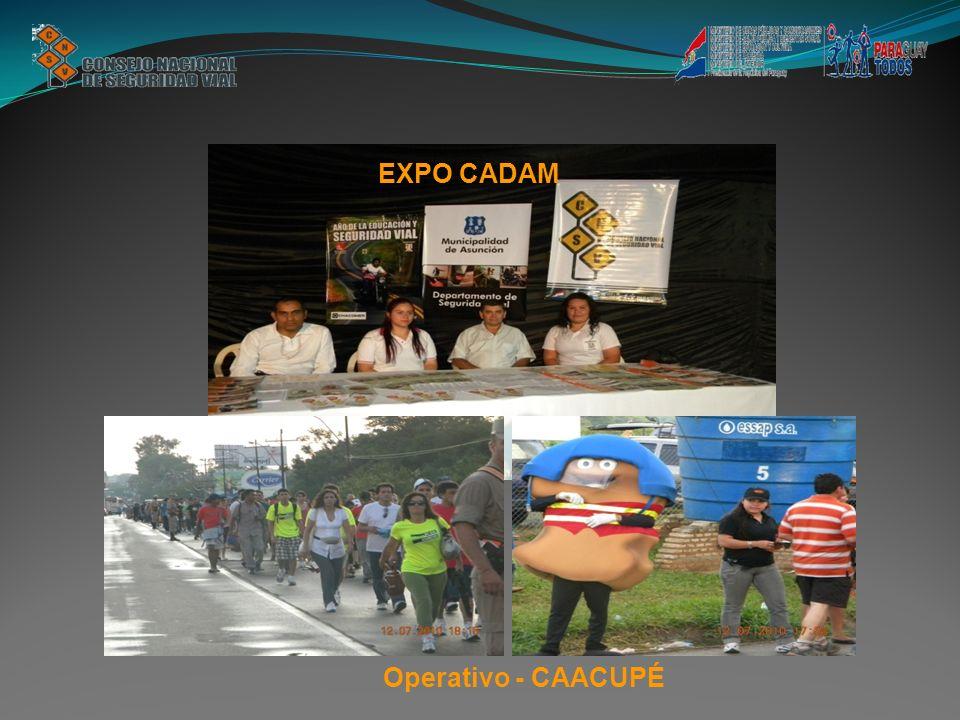 Operativo - CAACUPÉ EXPO CADAM