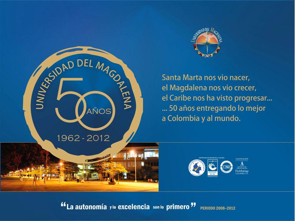 UNIVERSIDAD DEL MAGDALENA FACULTAD DE CIENCIAS DE LA SALUD