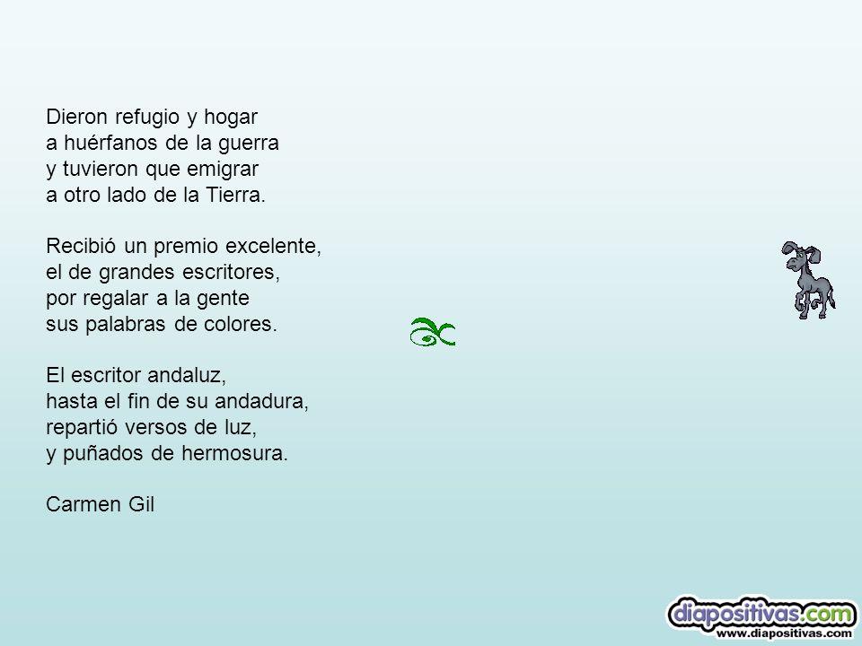 El poeta Juan Ramón, el mago de las palabras que te llega al corazón con solo un abracadabra. Era ya escritor notorio, pero de frágil salud: de médico