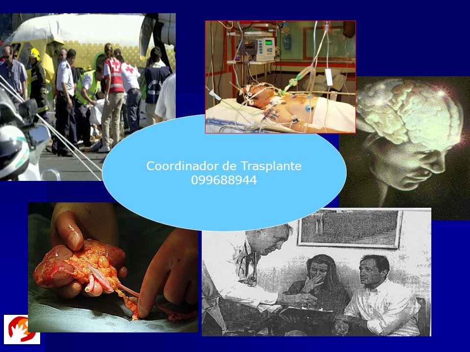 Coordinador de Trasplante 099688944