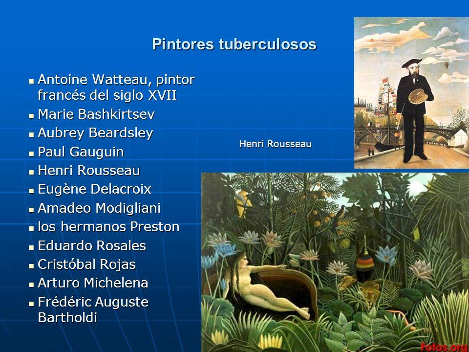 19 Pintores tuberculosos Antoine Watteau, pintor francés del siglo XVII Antoine Watteau, pintor francés del siglo XVII Marie Bashkirtsev Marie Bashkir