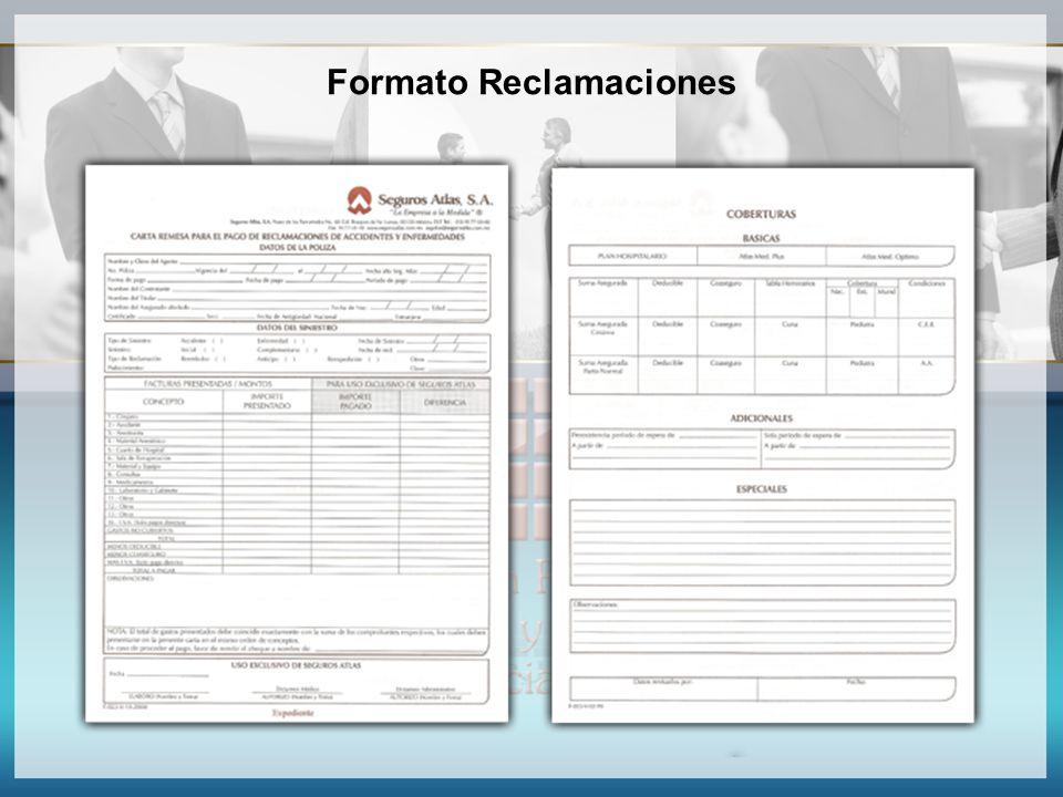 Formato Reclamaciones