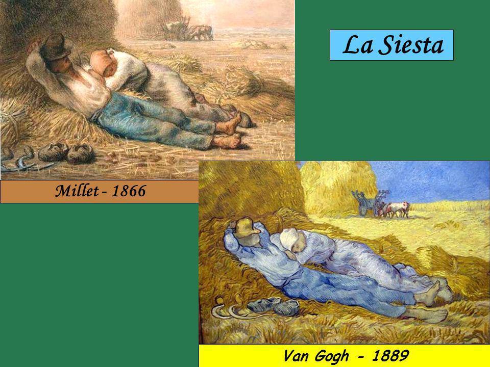 Millet - 1853 Van Gogh - 1890 Los Primeros Pasos