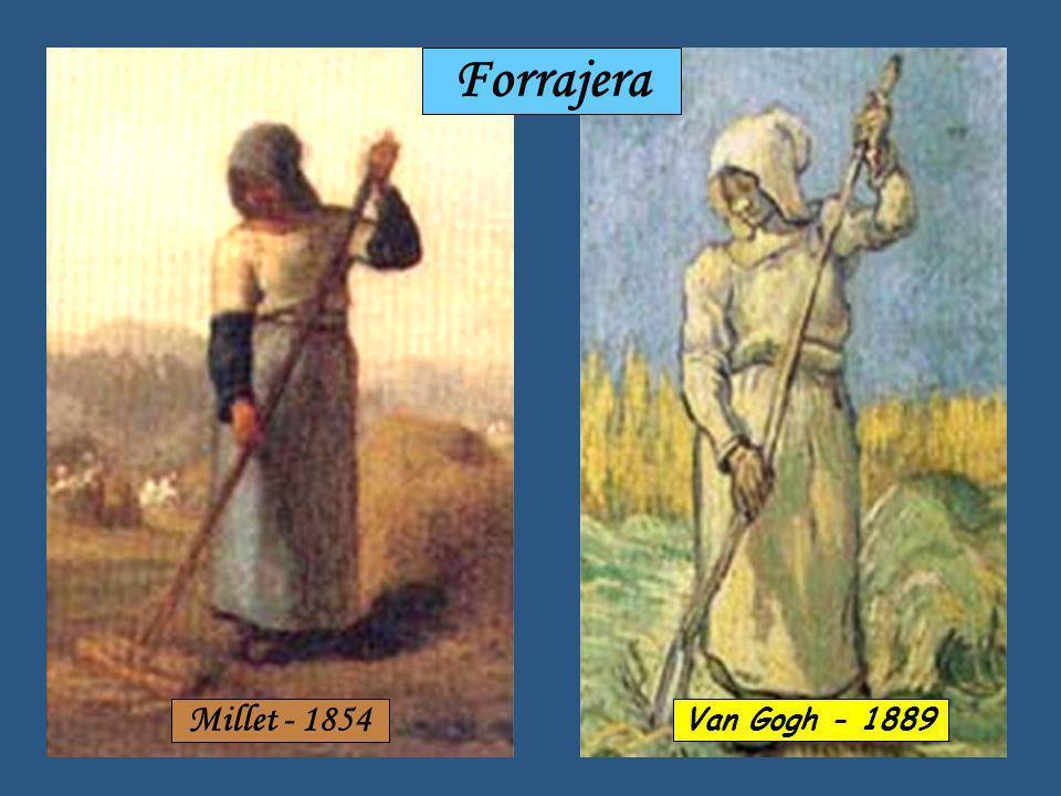 Millet - 1866 La Siesta Van Gogh - 1889