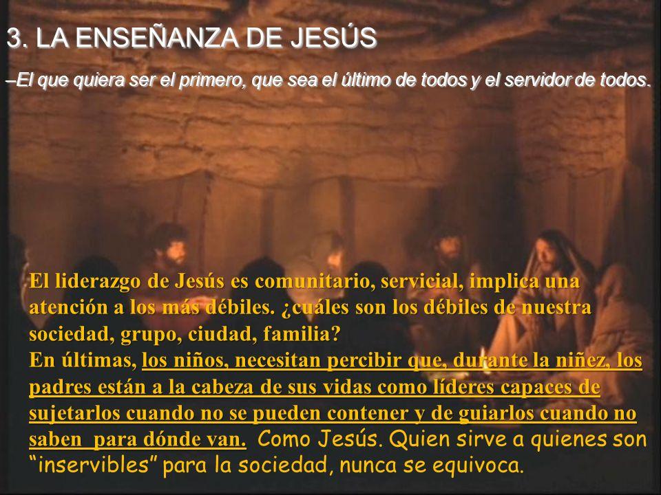 Las preocupaciones del Maestro y de los discípulos no coinciden. Jesús habla de servicio y entrega, los discípulos de reparto de poder. Estar al lado