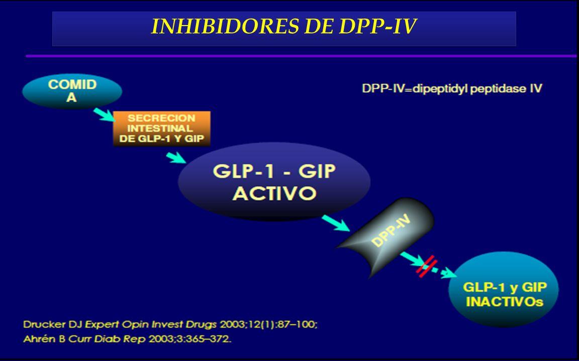 INHIBIDORES DE DPP-IV INHIBIDORES DE DPP-IV