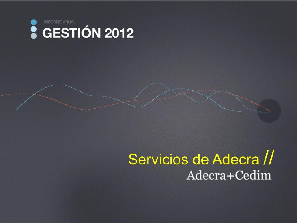 Servicios de Adecra //