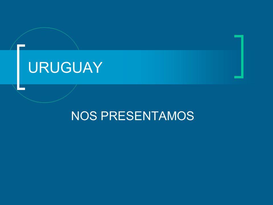 EN TRANSICIÓN DEMOGRÁFICA Población total: 3.323.906 Hombres: 48.3% Mujeres: 51.7% (1) 93,5% reside en zonas urbanas 13.4 % mayores de 64 años Expectativa de vida: 75.7 años Baja natalidad: 14.7/mil Baja mortalidad gral.: 9.4/mil Fuentes: (1) Proyecciones 2007- INE (2) Uruguay en cifras 2008 -INE