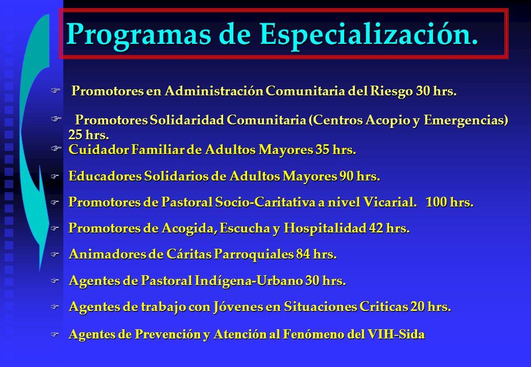 Promotores en Administración Comunitaria del Riesgo 30 hrs. Promotores en Administración Comunitaria del Riesgo 30 hrs. Promotores Solidaridad Comunit