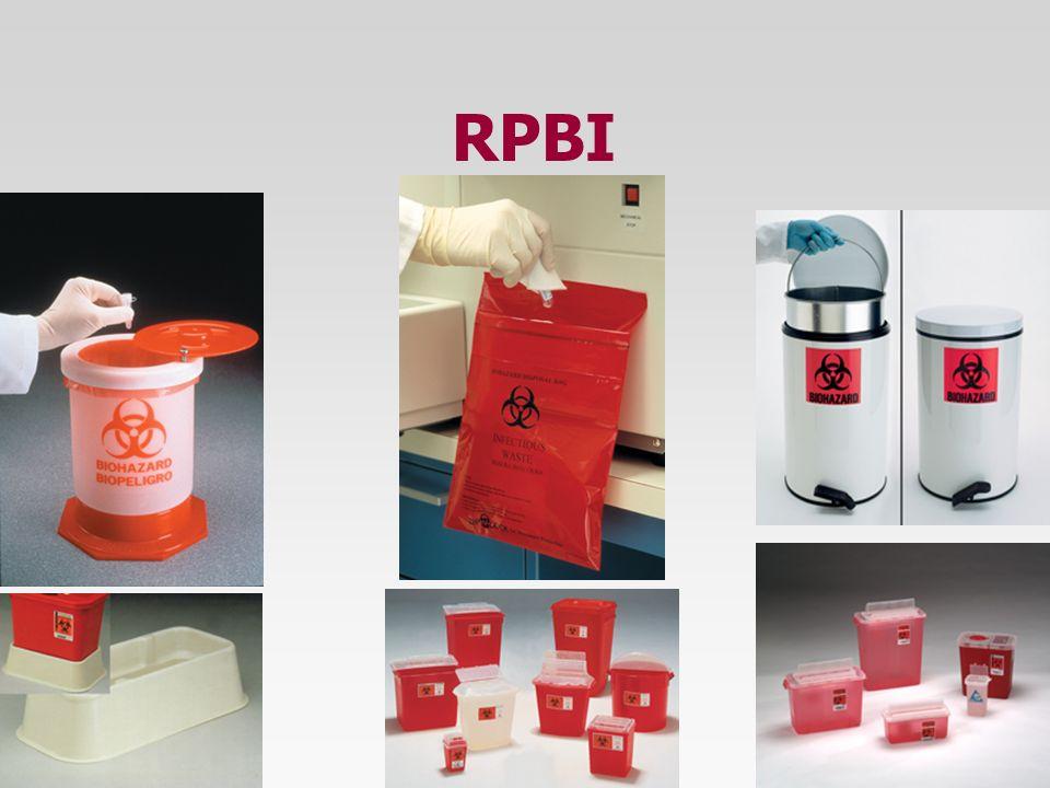 RPBI (Nivel de Generador) Se designa como GENERADOR al establecimiento que produce RPBI como parte de su actividad cotidiana y se les designa por nive
