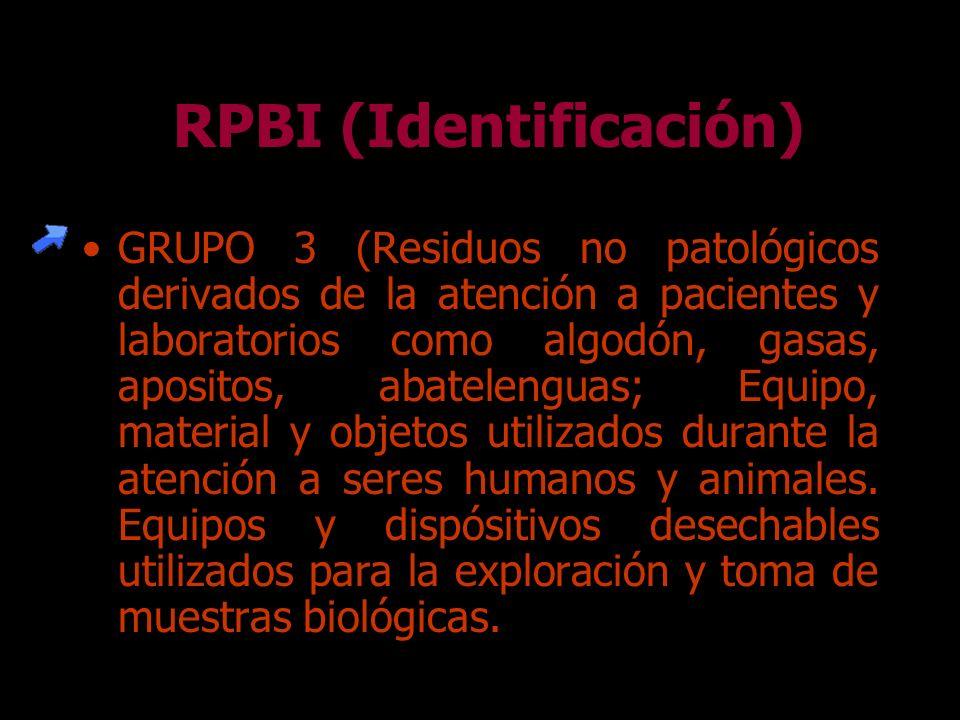 GRUPO 2 (Cultivos y cepas almacenadas de agentes infecciosos, cultivos generados en los productos de diagnóstico, investigación así como los generados