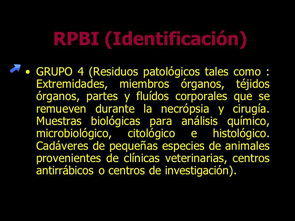 GRUPO 3 (Residuos no patológicos derivados de la atención a pacientes y laboratorios como algodón, gasas, apositos, abatelenguas; Equipo, material y o