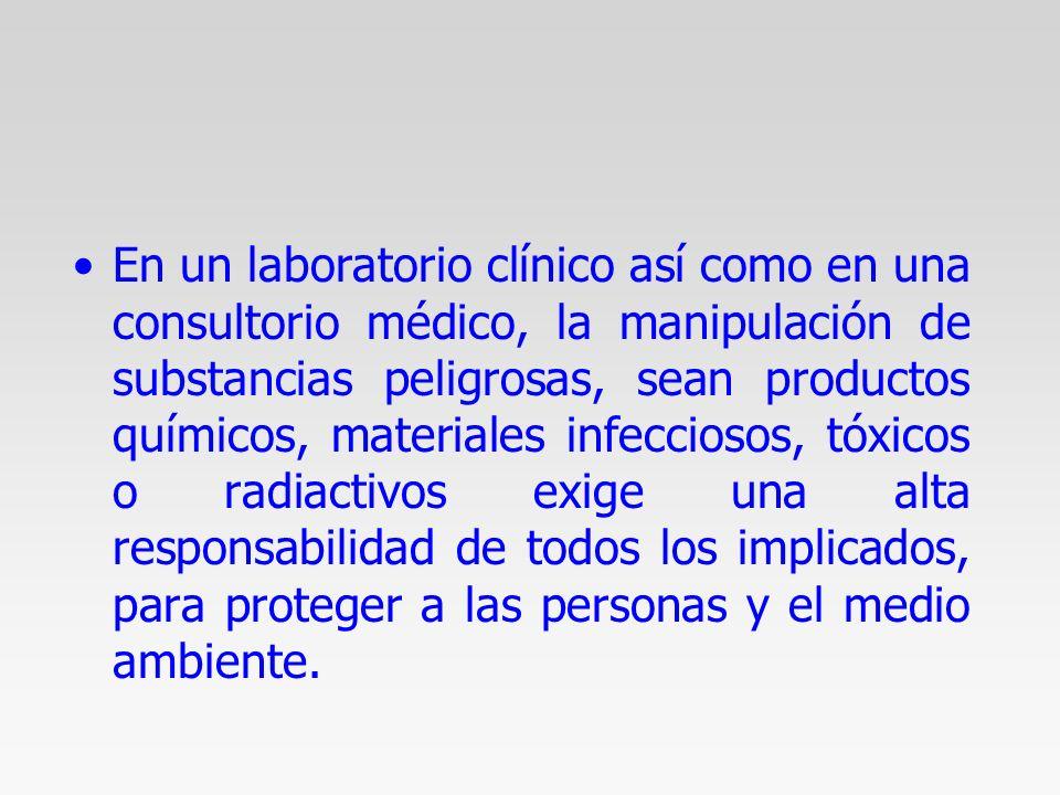 """La presentaci�n """"MANEJO DE RESIDUOS PELIGROSOS BIOLOGICO ..."""