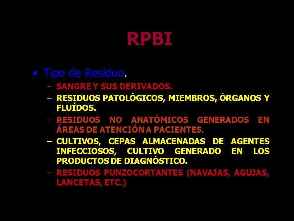 RPBI Servicios básicos de laboratorio clínico –HEMATOLOGÍA –INMUNOLOGIA –QUÍMICA CLÍNICA –BACTERIOLOGÍA –PARASITOLOGÍA –ENDOCRINOLOGÍA
