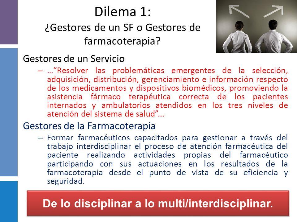 Farmacia Hospitalaria y Pacientes actuales: Polimedicados Interacciones farmacológicas Reacción adversas Necesidad y demanda de mayor información tera