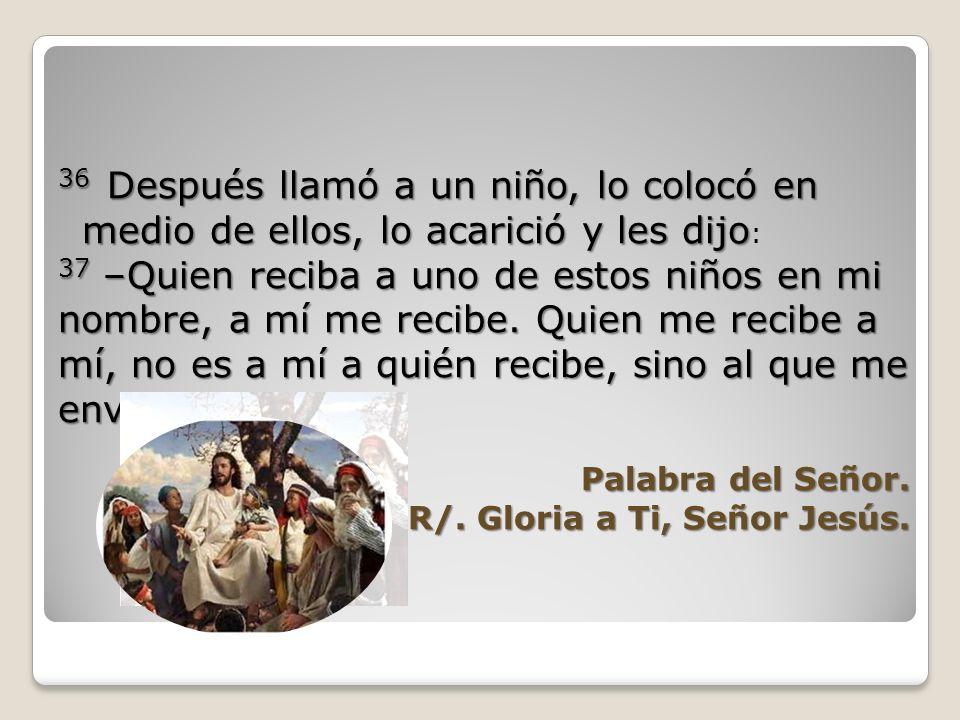 33 Llegaron a Cafarnaún y, ya en casa, les preguntó: –¿De qué hablaban por el camino? –¿De qué hablaban por el camino? 34 Se quedaron callados, porque