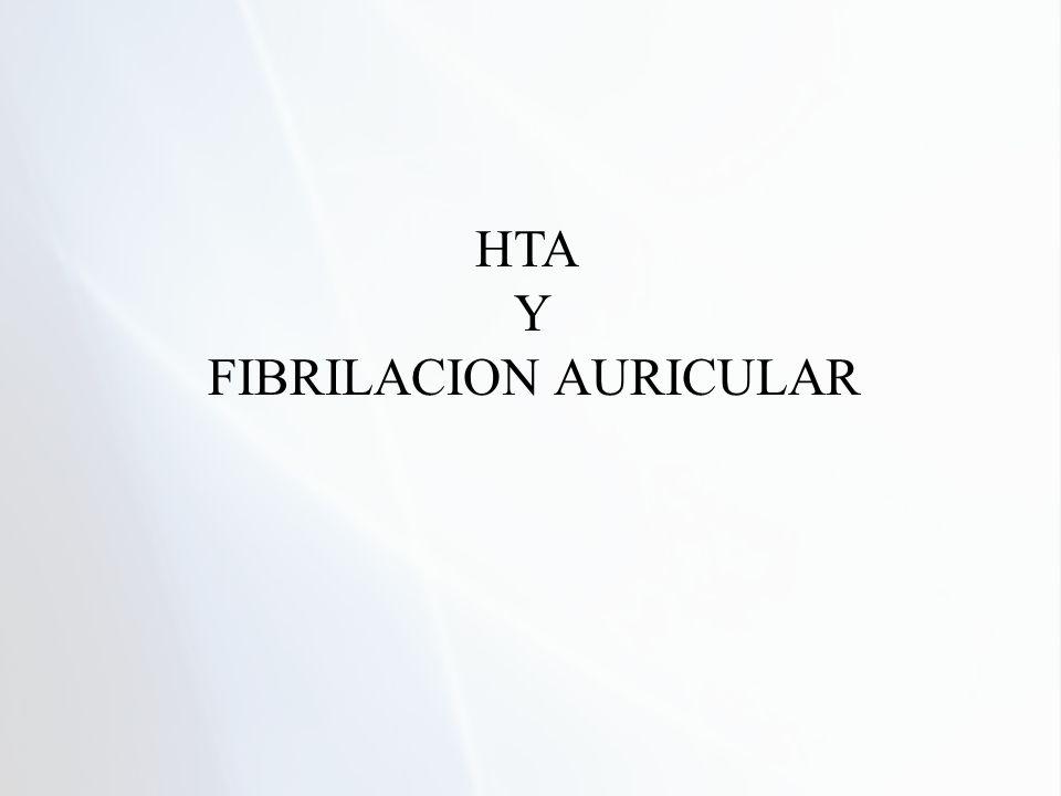 HTA Y FIBRILACION AURICULAR