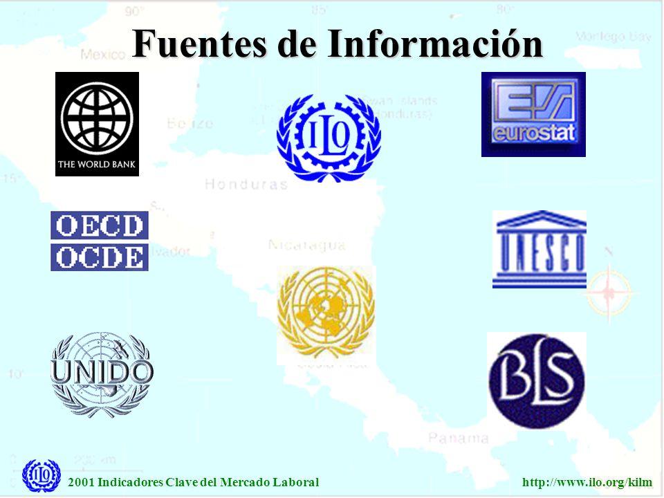 2001 Indicadores Clave del Mercado Laboralhttp://www.ilo.org/kilm Ningún indicador sobre el mercado laboral puede proveer una vista clara y exacta para los asuntos políticos que cargan los partidos tripartitos.