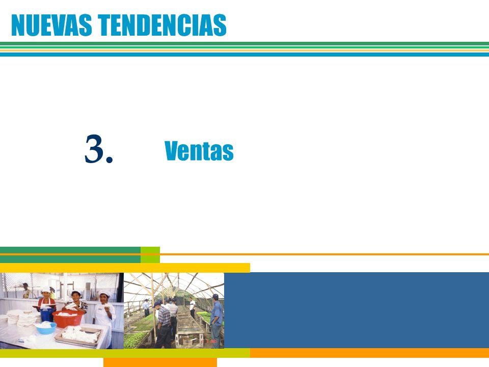 NUEVAS TENDENCIAS Ventas 3.