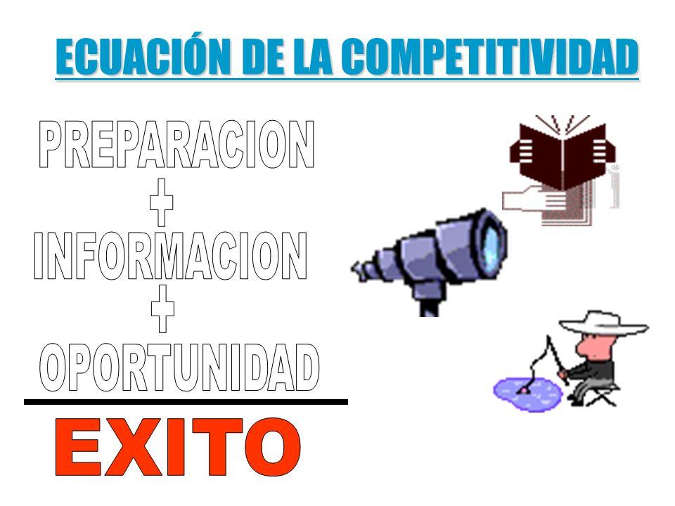 ECUACIÓN DE LA COMPETITIVIDAD