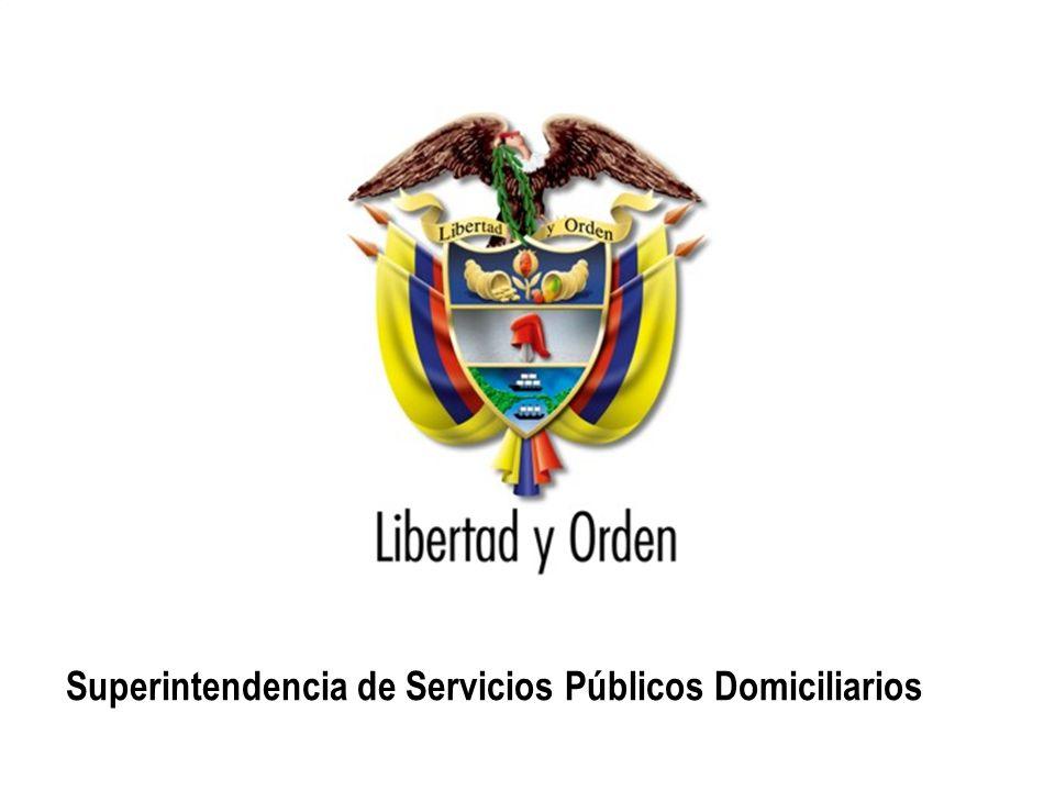 Superintendencia de Servicios Públicos Domiciliarios República de Colombia Superintendencia de Servicios Públicos Domiciliarios