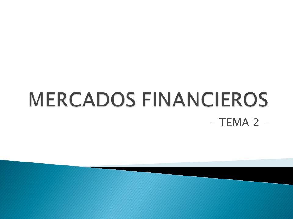 Mercado monetario: Hace referencia a un conjunto de mercados independientes pero relacionados entre sí, en los que se intercambiarán activos financieros a c/p.
