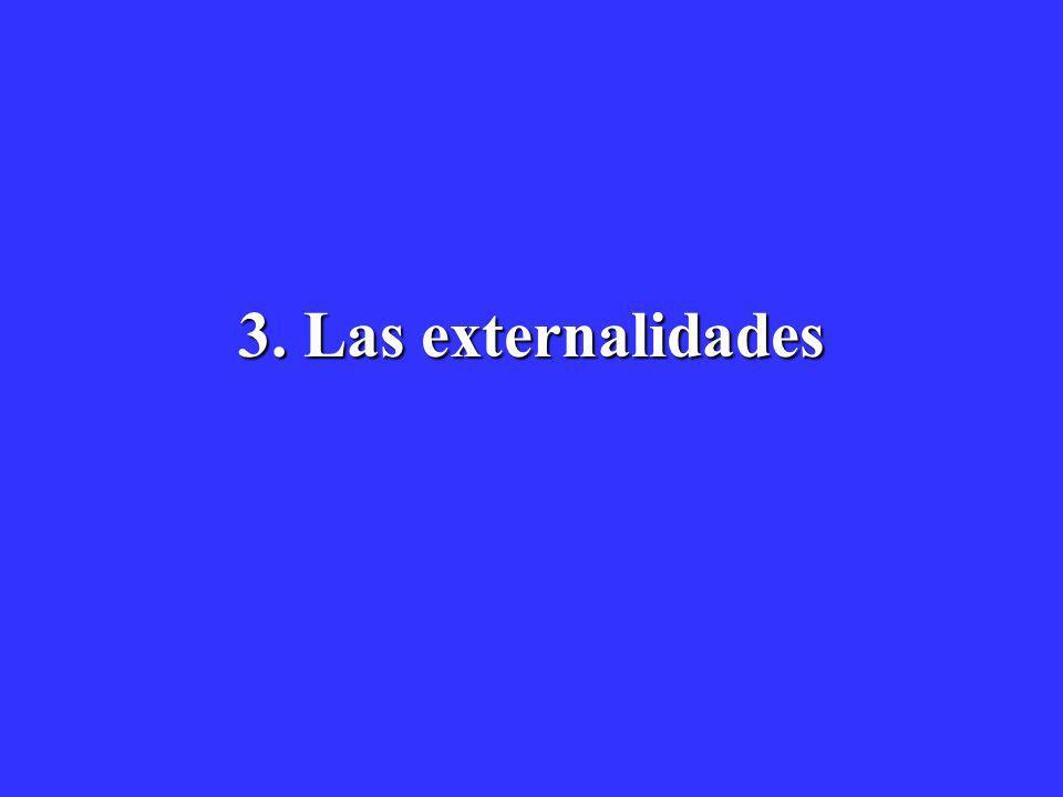 3. Las externalidades