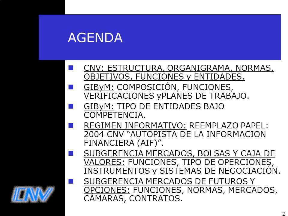 2 AGENDA nCNV: ESTRUCTURA, ORGANIGRAMA, NORMAS, OBJETIVOS, FUNCIONES y ENTIDADES.