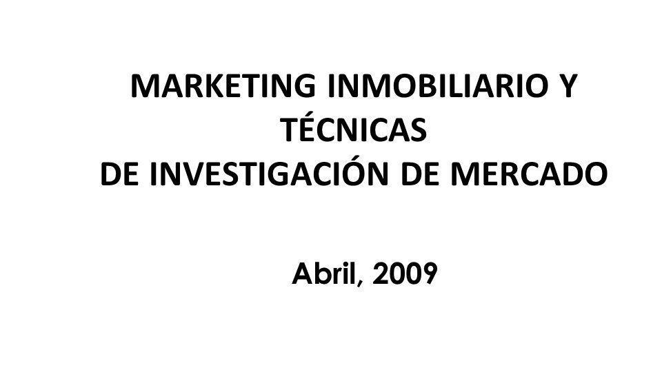 CONTENIDO FUNDAMENTOS DE MARKETING PLAN Y ESTRATEGIA DE MARKETING INVESTIGACION DE MERCADO