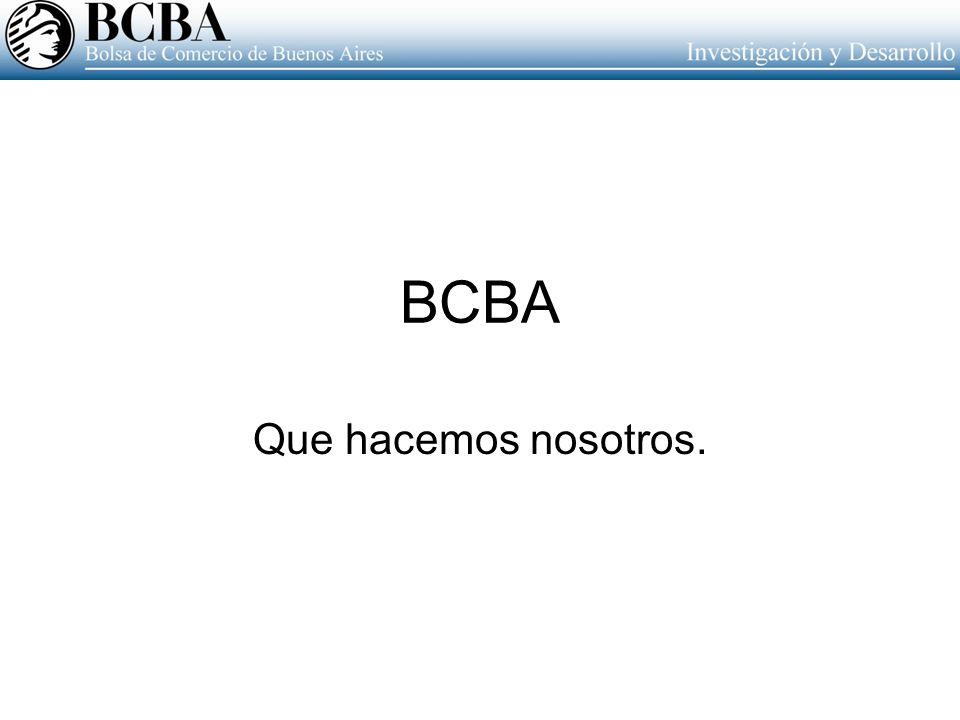 BCBA Que hacemos nosotros.