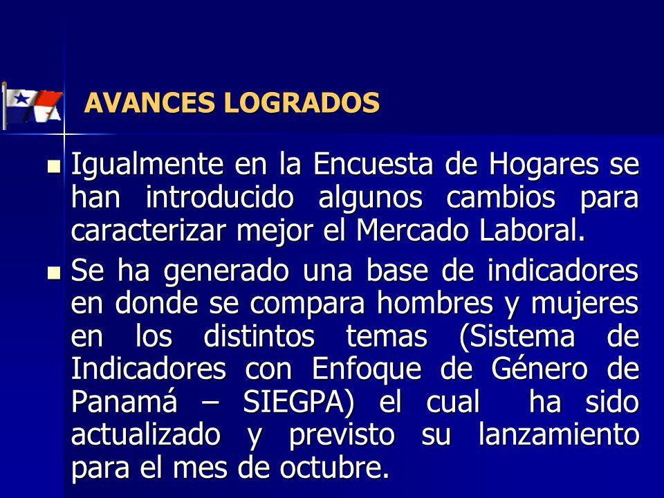 Encuesta de Hogares: es la fuente principal y continua para el estudio del mercado laboral en Panamá.