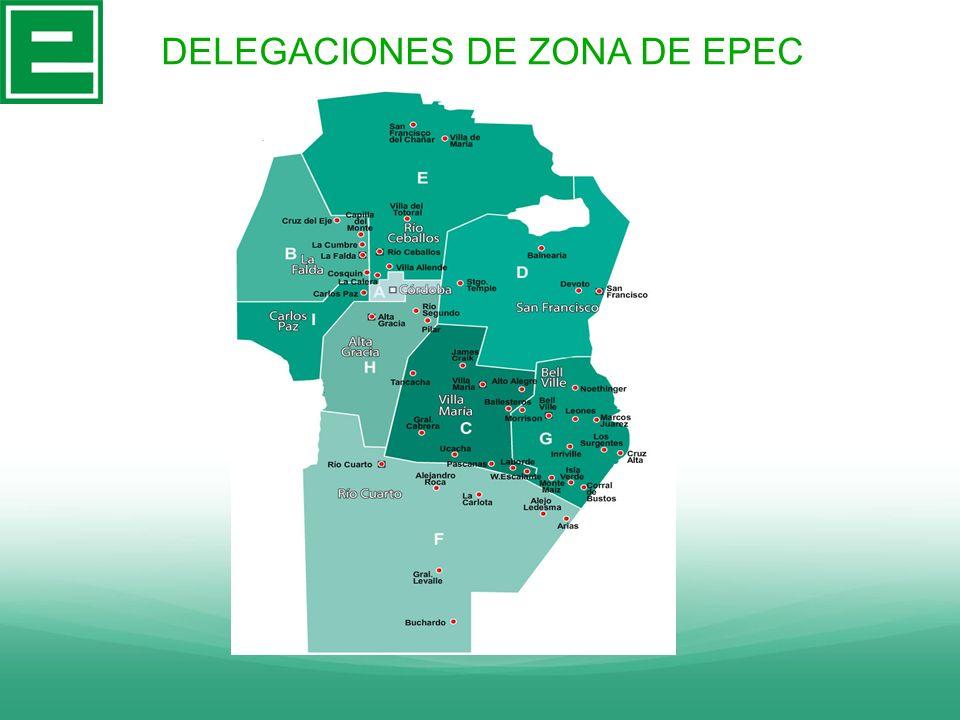 DELEGACIONES DE ZONA DE EPEC