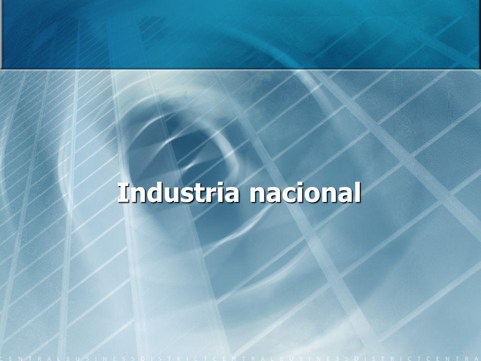 19 Industria nacional