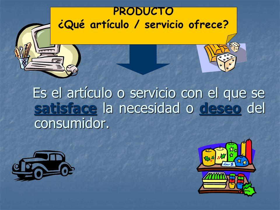 3.2 LA MEZCLA DE MARKETING