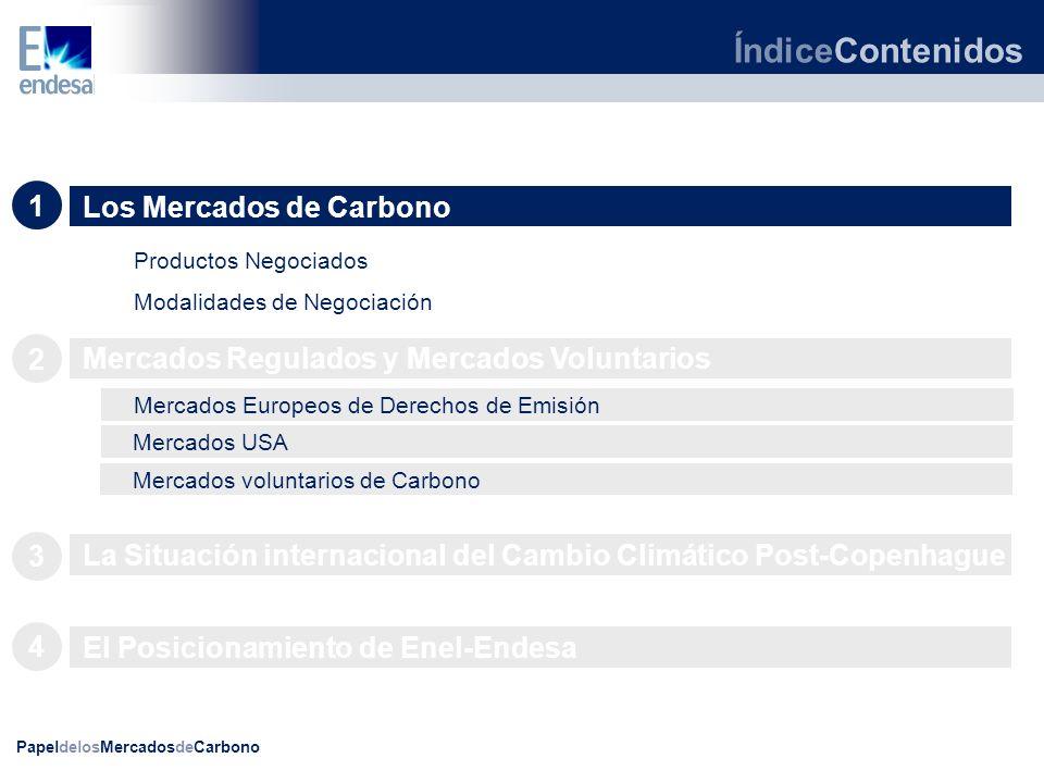 PapeldelosMercadosdeCarbono MercadosDeEmisiones Introducción: Qué y por qué.