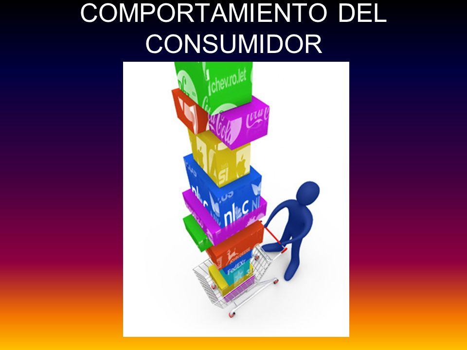 Se refiere a la conducta o comportamiento que los consumidores tienen cuando buscan, compran, usan, evalúan, desechan productos y servicios que esperan que satisfagan sus necesidades.
