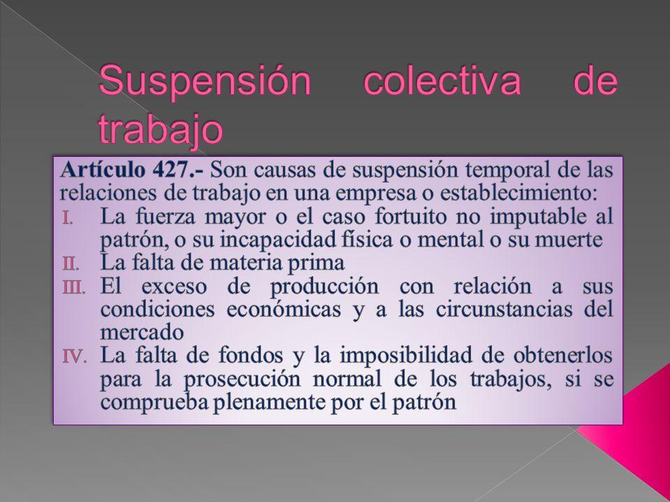 Artículo 428.- La suspensión puede afectar a toda una empresa o establecimiento o a parte de ellos.