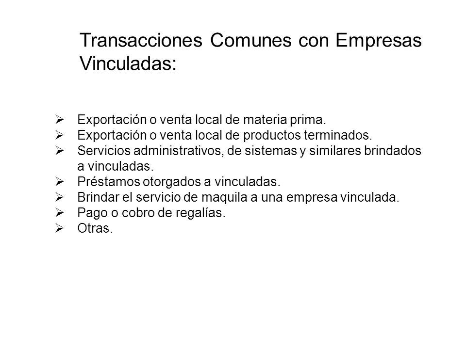 Exportación o venta local de materia prima. Exportación o venta local de productos terminados. Servicios administrativos, de sistemas y similares brin