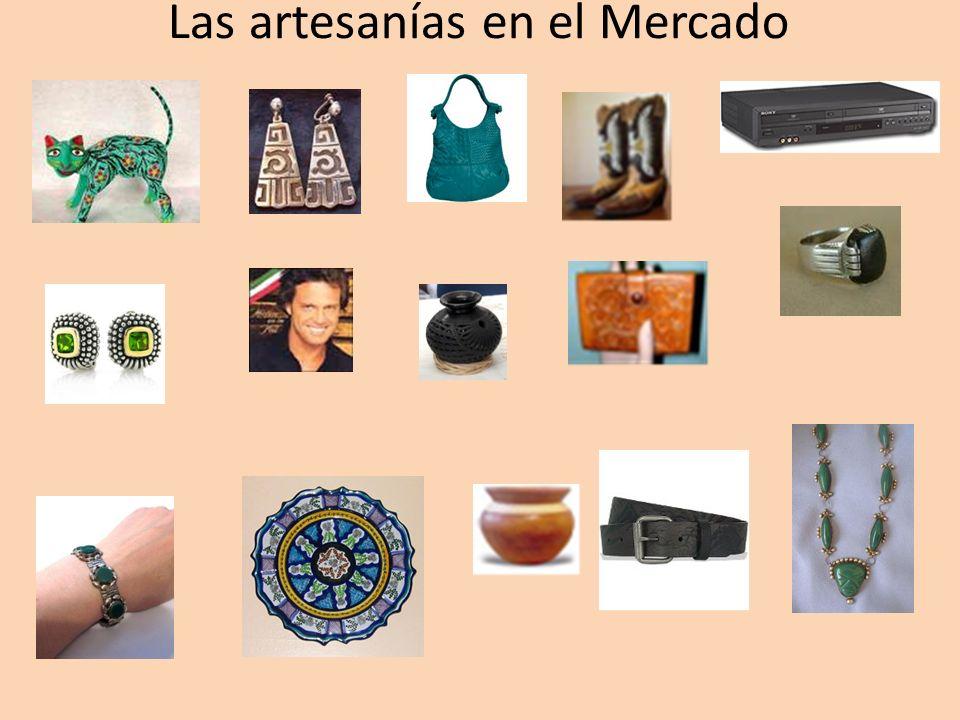 Las artesanías en el Mercado