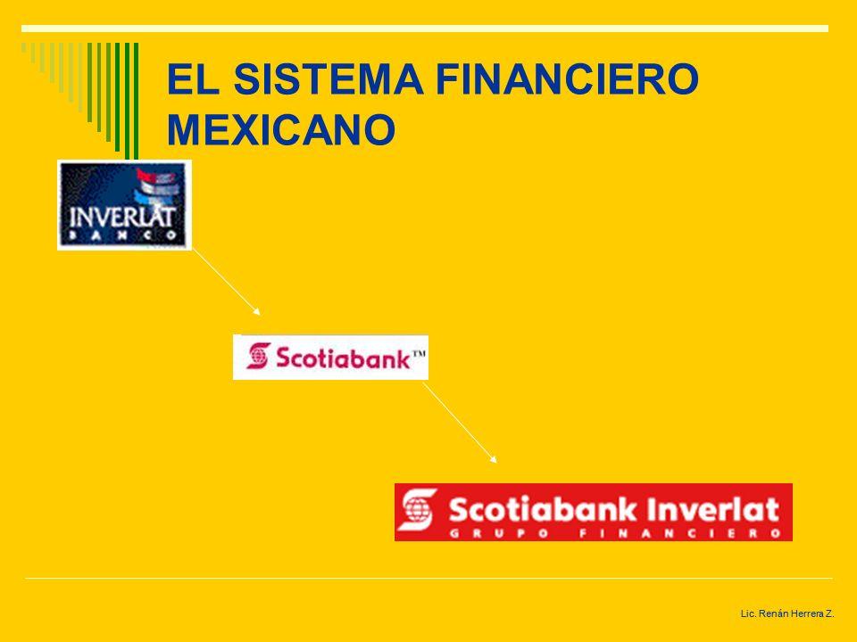 Lic. Renán Herrera Z. EL SISTEMA FINANCIERO MEXICANO Atlantico