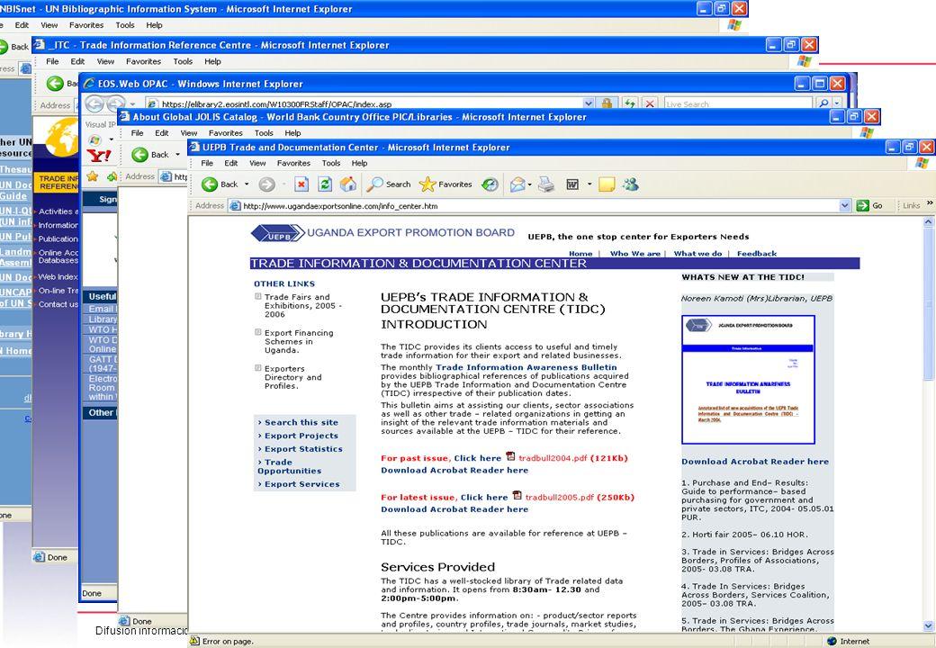 Difusión información 080312-Disem 10 México DF, 10-13 de Marzo 2008