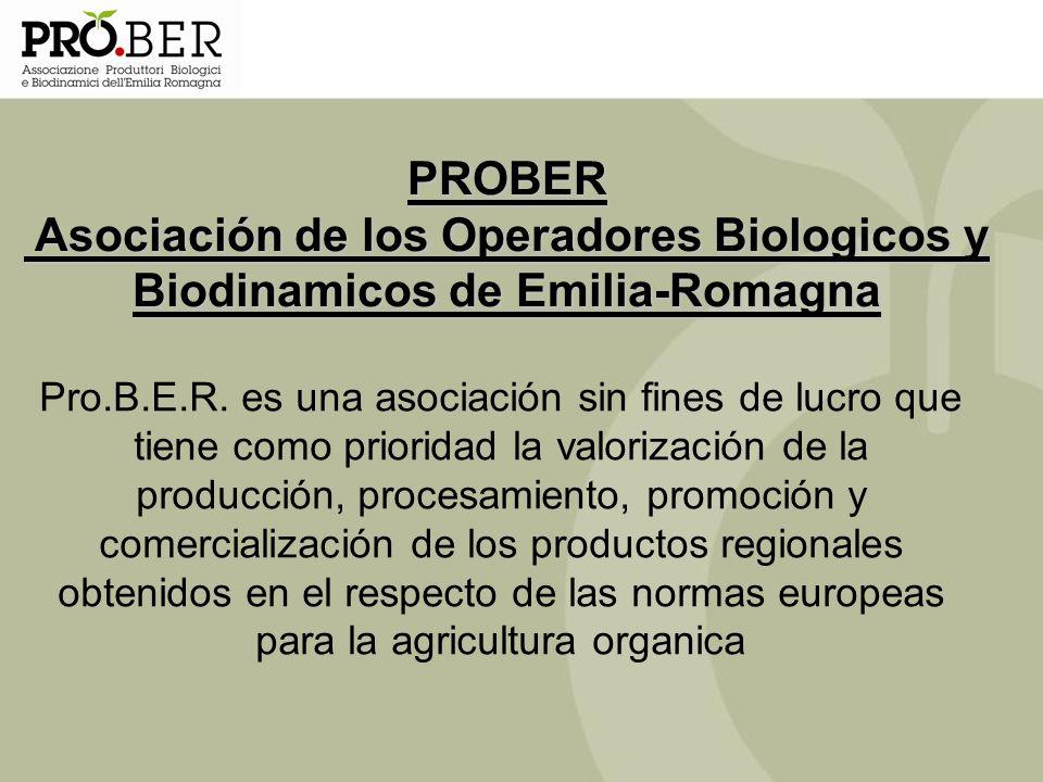 Pro.B.E.R. es una asociación sin fines de lucro que tiene como prioridad la valorización de la producción, procesamiento, promoción y comercialización