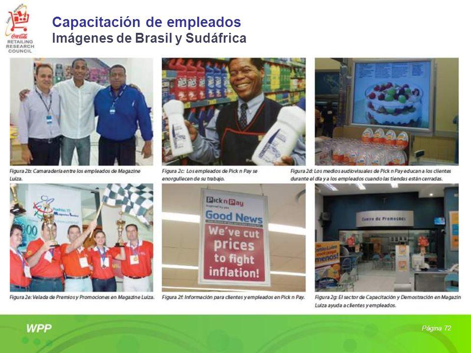 Capacitación de empleados Imágenes de Brasil y Sudáfrica Página 72