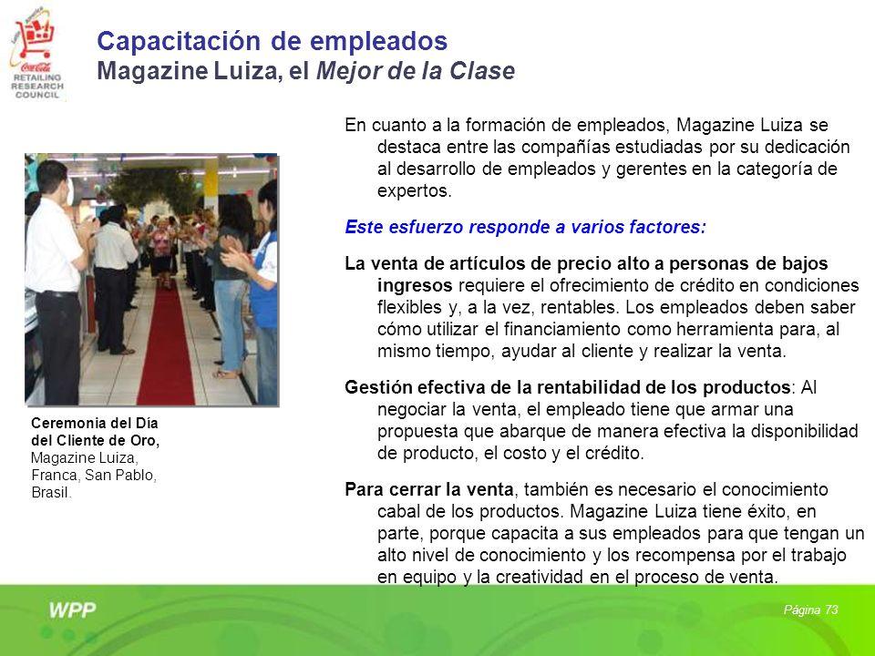 Capacitación de empleados Magazine Luiza, el Mejor de la Clase En cuanto a la formación de empleados, Magazine Luiza se destaca entre las compañías es