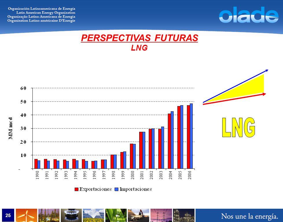 25 PERSPECTIVAS FUTURAS LNG