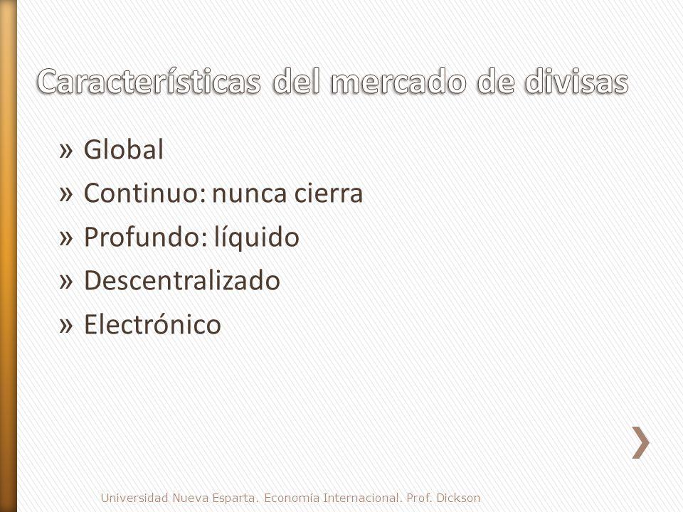 » Global » Continuo: nunca cierra » Profundo: líquido » Descentralizado » Electrónico Universidad Nueva Esparta.