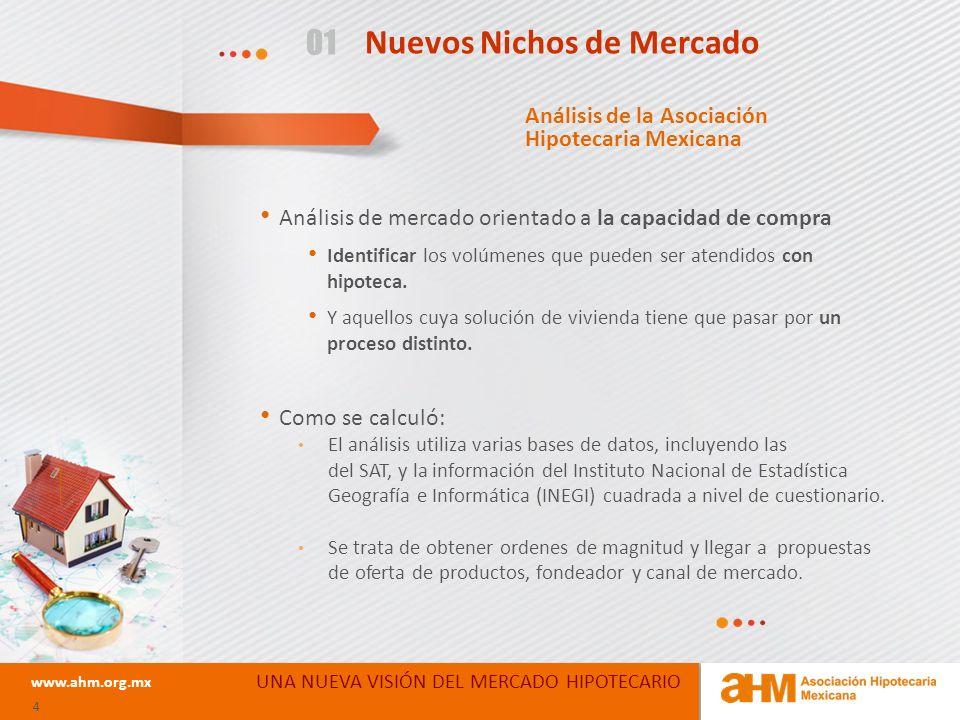 05 Siguientes Pasos UNA NUEVA VISIÓN DEL MERCADO HIPOTECARIO www.ahm.org.mx 25 Prioridad al programa en Sistemas y Crédito por parte del Instituto Integrar los equipos de trabajo Petición