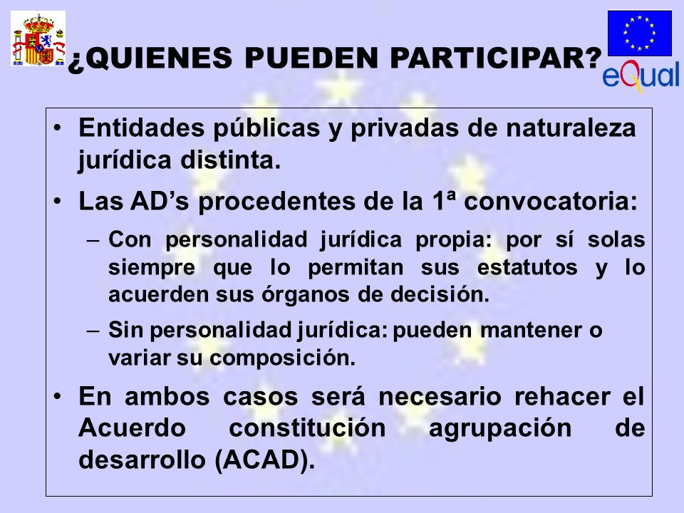 Entidades públicas y privadas de naturaleza jurídica distinta.