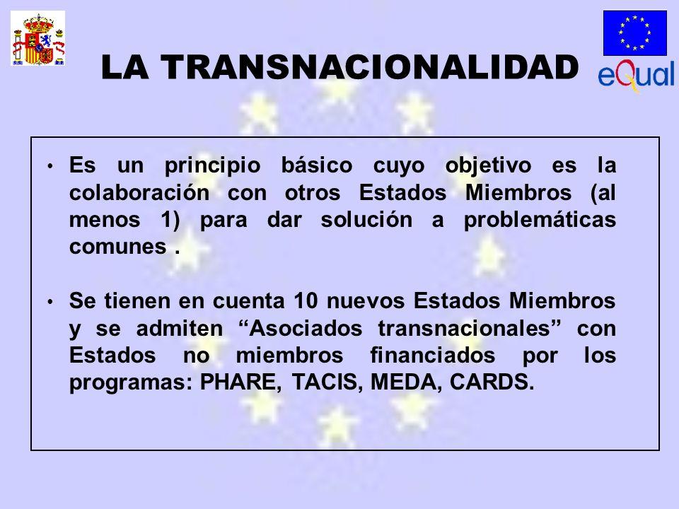 Es un principio básico cuyo objetivo es la colaboración con otros Estados Miembros (al menos 1) para dar solución a problemáticas comunes.